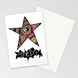 We all shine on. Stationery Cards