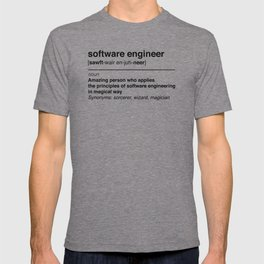 Software Engineer definition T-shirt