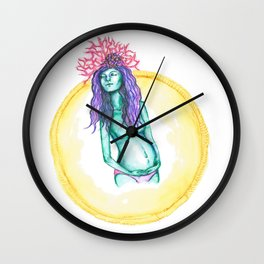 Unborn Wall Clock
