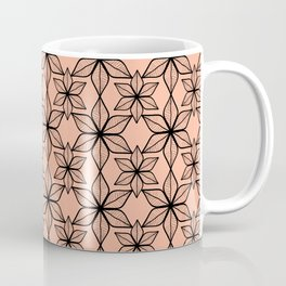 Living coral color that reminds of pretty broad leaves on tropical vacations. Coffee Mug