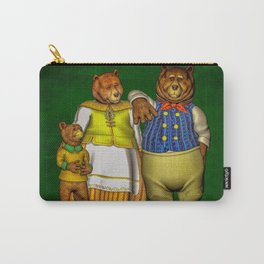 The Three Bears Carry-All Pouch