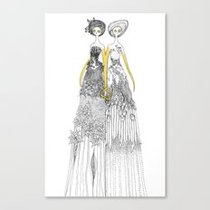 Sisters of nature Canvas Print