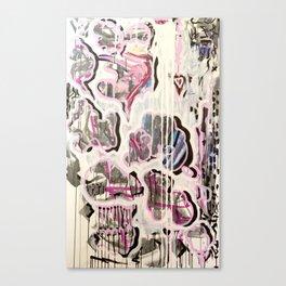 PUFFY CHEATER CHEETA Canvas Print
