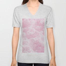 Clounds Sky Pink Unisex V-Neck