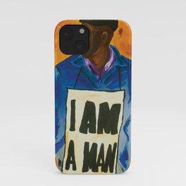 I Am A Man iPhone Case