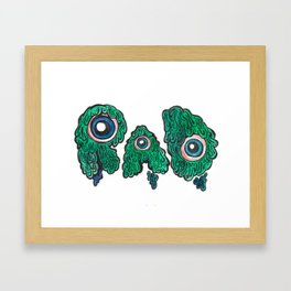 RAD, Watercolor Framed Art Print