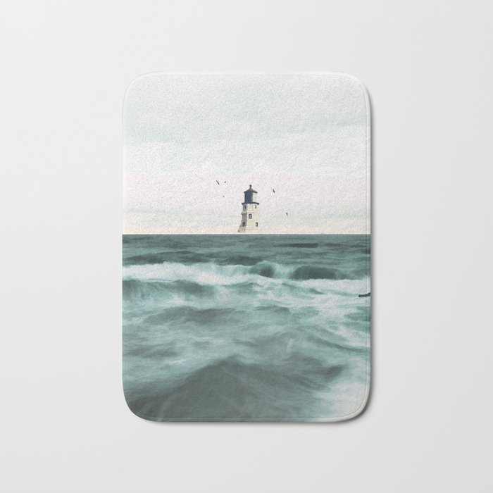good Lighthouse Bath Mats Part - 15: Lighthouse Bath Mat