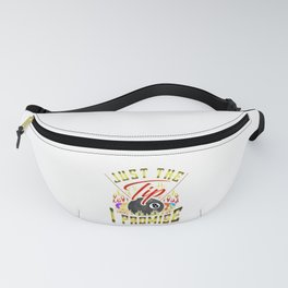 Funny Just The Tip I Promise Billiards Pun Fanny Pack