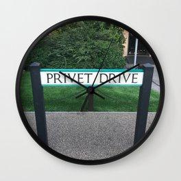 Privet Drive Sign Wall Clock