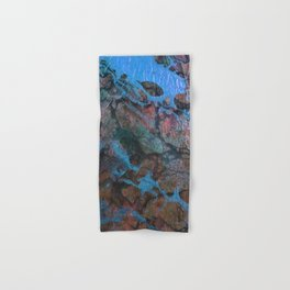 The Painter's Brush :: Corrupted Ocean Hand & Bath Towel