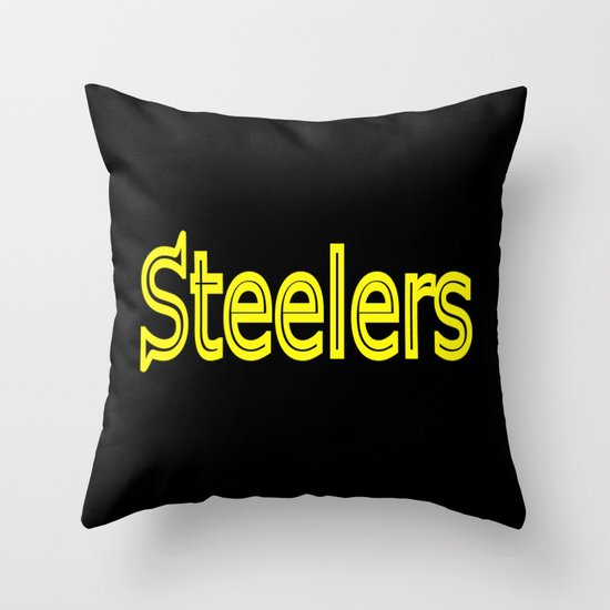 Steelers - #1 Throw Pillow