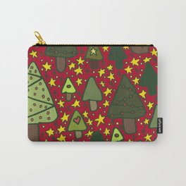 Small Trees Carry-All Pouch