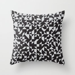 Girard Inspired Geometric Pattern Throw Pillow