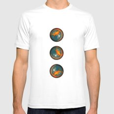The fish Mens Fitted Tee White MEDIUM