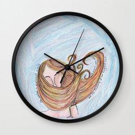 Windswept Silence Wall Clock
