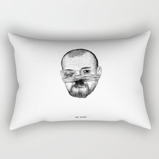 Mr. Bump Rectangular Pillow
