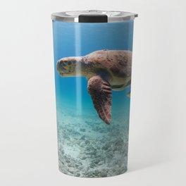 Swimming With Dinosaurs Travel Mug
