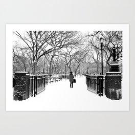 Trees #4 Art Print