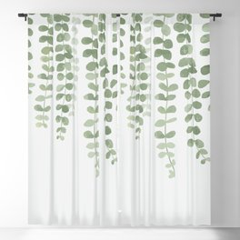 Green Blackout Curtain