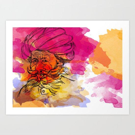 rajasthan Art Print
