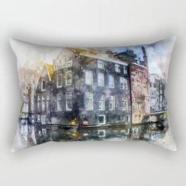 City Palace Rectangular Pillow