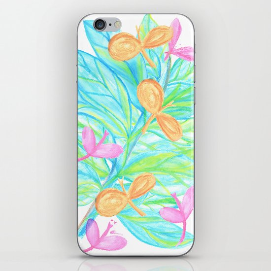 Dragon Flys iPhone & iPod Skin