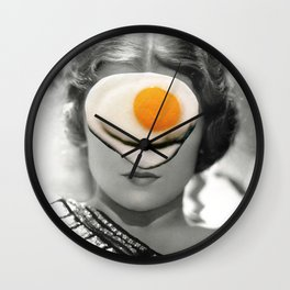 Thank God It's Fried Egg Wall Clock