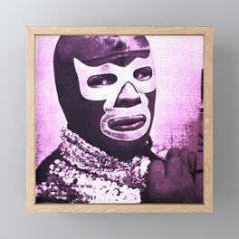 wrestling fighter Framed Mini Art Print
