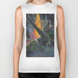 Upa Upa (The Fire Dance) by Paul Gauguin Biker Tank
