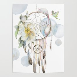 The Dreamcatcher Caught Two Mice Poster