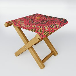 Doodle 16 Red Folding Stool