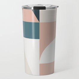 Cirque 05 Abstract Geometric Travel Mug