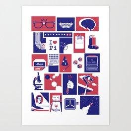 Geekology Art Print