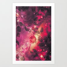 The Space Roses - for iphone Art Print