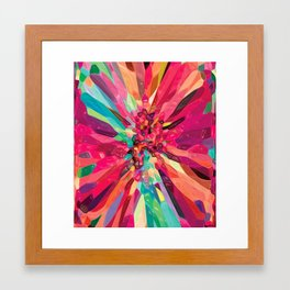 Bursting Framed Art Print