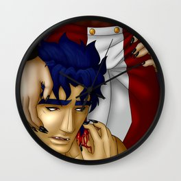 Vampire Seducton Wall Clock
