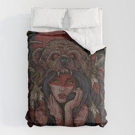 Tattooed Bear Comforters