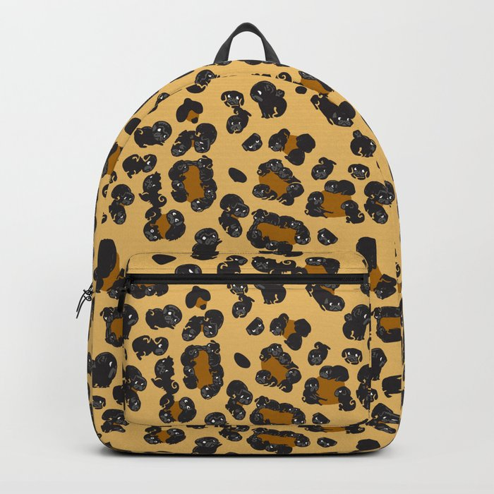 Leopard Pugs Backpack