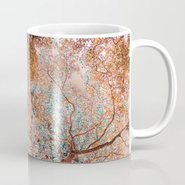 The Lungs of the Earth - Gold, Pink &Turquoise Coffee Mug