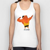 friday Tank Tops featuring Flex Friday by Huebucket