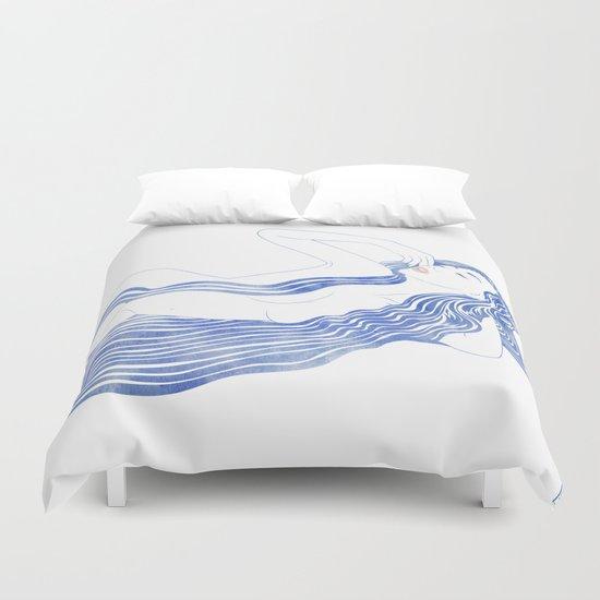 Water Nymph XXXVI Duvet Cover