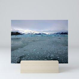Alaska Hubbard Glacier Floating Blue Ice Mini Art Print
