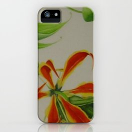 Gloriosa iPhone Case