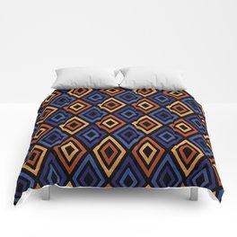 Tribal Diamond Pattern Comforters