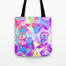 Art Face Tote Bag