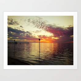 Dock of the Bay Art Print