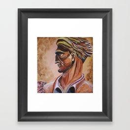 Mountaineer WVU Framed Art Print