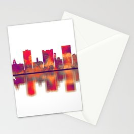 Pasadena Skyline Stationery Cards