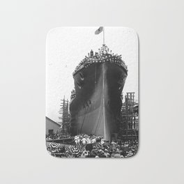 USS Arizona, Navy Yard, New York Bath Mat