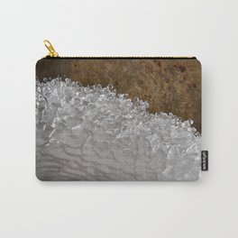 Frozen Wave - photograph by Teresa Thompson Carry-All Pouch